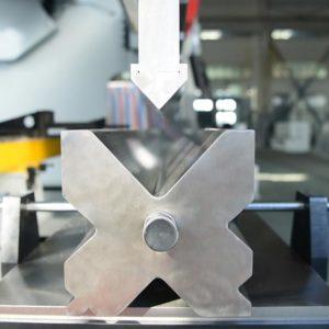100ton Hydraulic CNC Press Brake Bending Process