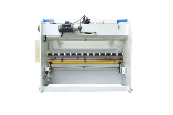Hydraulic CNC brake press machines back look