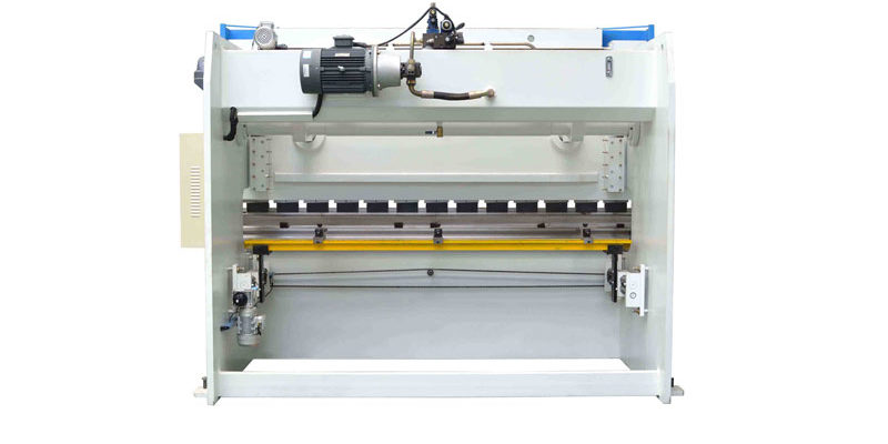 Hydraulic CNC brake press machines back look
