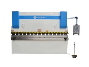 NC Torsion Bar Synchro Press Brake - front side