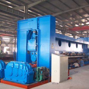 Large Roll Bending Machine for shipbuilding