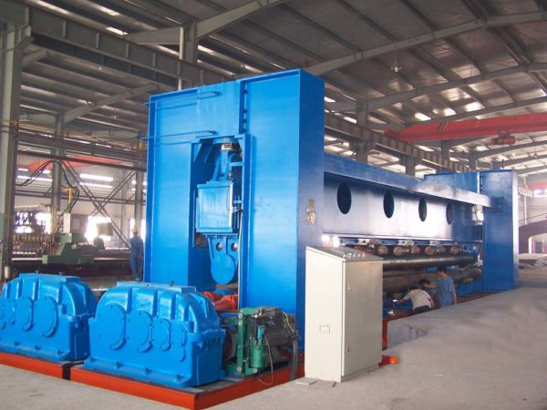 3-Roller Plate Bending Roll For Shipbuilding