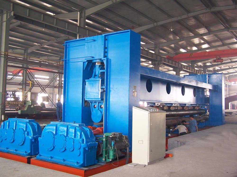 Large Roll Bending Machine for shipbuilding