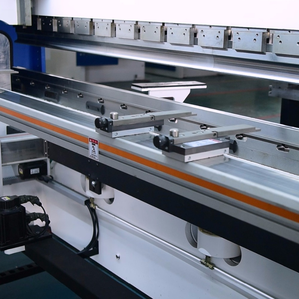 CNC Brake Press Machine slider backgauge