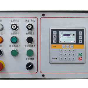 Industrial Metal Shear Electrical Components ELGO P40 control system