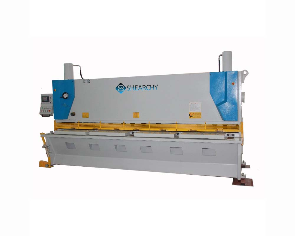 Eurocut CNC Hydraulic Guillotine Shear Machine Photo
