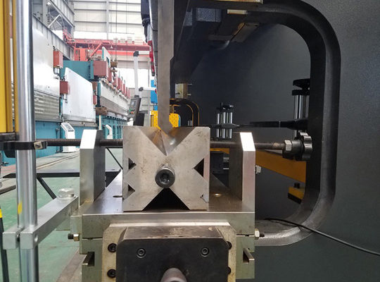 Metal Sheet Bending Machine punch and die photo