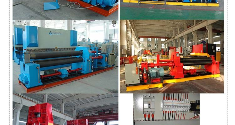 3 and 4 Roll Plate Bending Machines