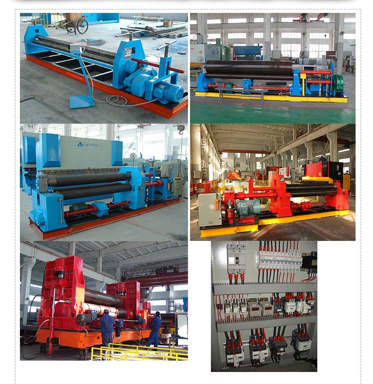 Different Types Sheet Metal Rolling Machines