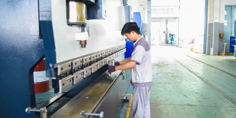 metal press brake bending machine with compensation for sale