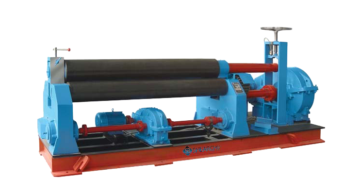 3 roll plate roller bending machine for sale