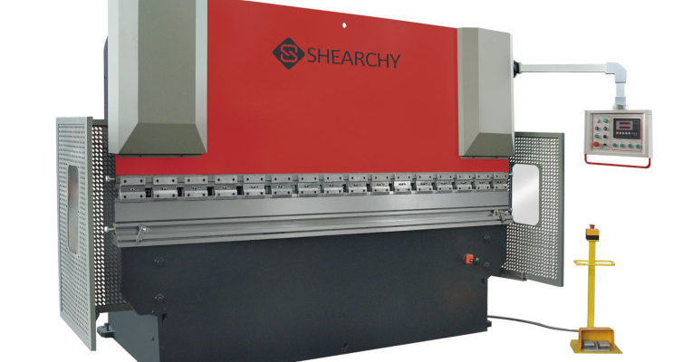CNC Hydraulic Metal Press Brake Machine 100ton 3200mm